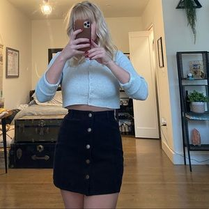 Black billabong skirt